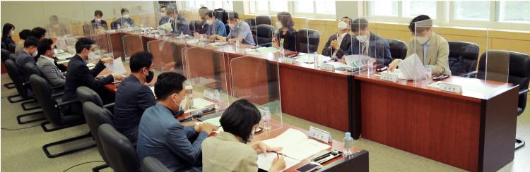 제7차 스포츠정책포럼 개최 회의 사진